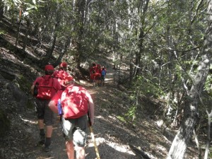 Napa Camp Out-Mt. St. Helena Hike 0002
