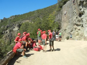 Napa Camp Out-Mt. St. Helena Hike 0006