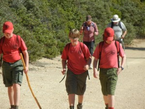 Napa Camp Out-Mt. St. Helena Hike 0009