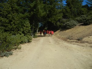 Napa Camp Out-Mt. St. Helena Hike 0023