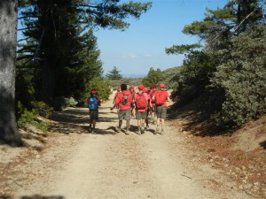 Napa Camp Out-Mt. St. Helena Hike 0024