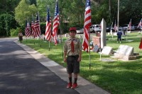 Fair Oaks Cemetery Memorial Day 0004