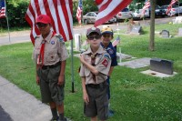 Fair Oaks Cemetery Memorial Day 0005