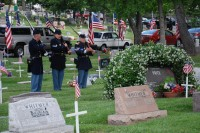Fair Oaks Cemetery Memorial Day 0008