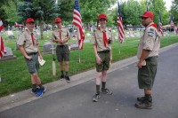 Fair Oaks Cemetery Memorial Day 0009