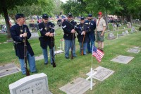 Fair Oaks Cemetery Memorial Day 0014