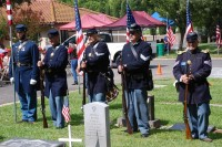 Fair Oaks Cemetery Memorial Day 0029