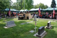 Fair Oaks Cemetery Memorial Day 0031