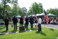 Fair Oaks Cemetery Memorial Day 0033