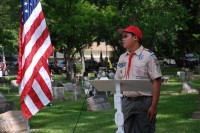Fair Oaks Cemetery Memorial Day 0035