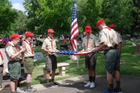 Fair Oaks Cemetery Memorial Day 0038