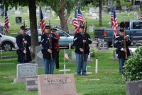 Fair Oaks Cemetery Memorial Day 0046