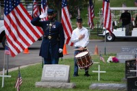 Fair Oaks Cemetery Memorial Day 0047