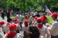 Fair Oaks Cemetery Memorial Day 0067