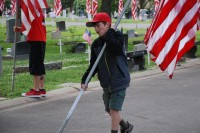 Fair Oaks Cemetery-Avenue of Flags 0071