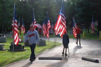 Fair Oaks Cemetery-Avenue of Flags 0077