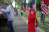Fair Oaks Cemetery-Avenue of Flags 0079