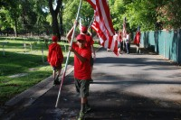 Fair Oaks Cemetery-Avenue of Flags 0081