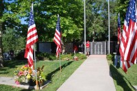 Fair Oaks Cemetery-Avenue of Flags 0083