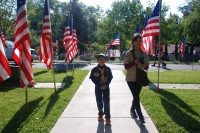 Fair Oaks Cemetery-Avenue of Flags 0084