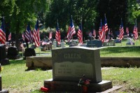 Fair Oaks Cemetery-Avenue of Flags 0092