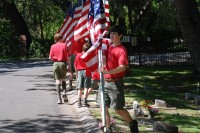Fair Oaks Cemetery-Avenue of Flags 0094